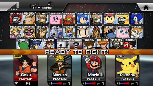 game Super Smash Flash 2 v0.9b