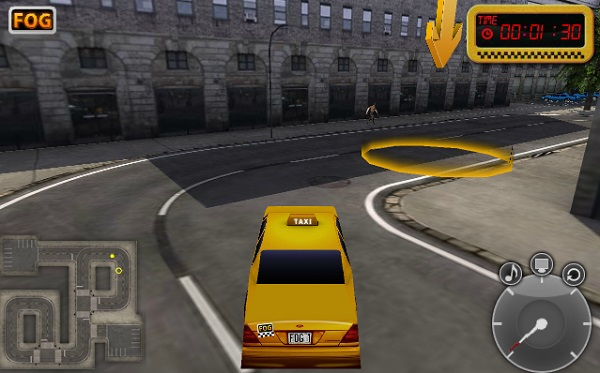 game tai xe Taxi New York 3D