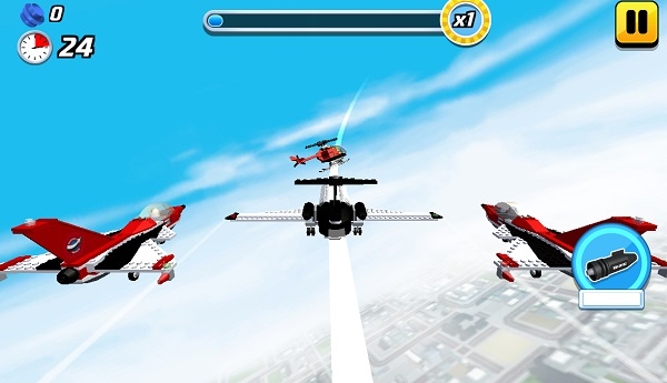 game Thanh pho may bay lego city airport 3d online