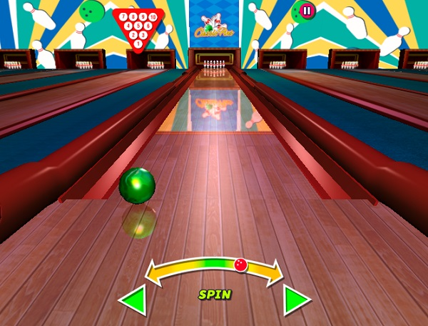 game Vua bowling 3D y8