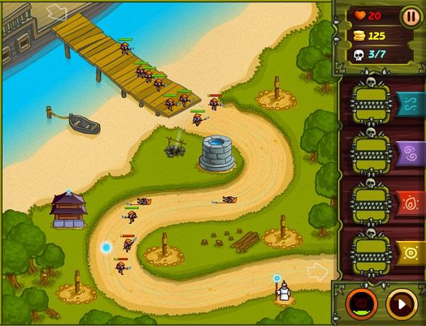game Bau vat rung xanh 4 3 2 1