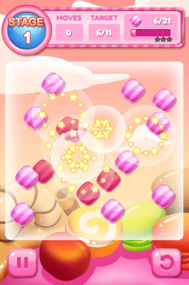 game Candy chain hinh anh 2