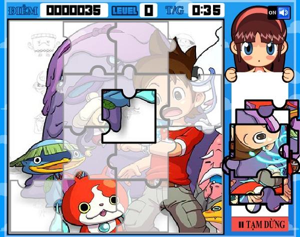 game Dong ho yeu quai cartoon network