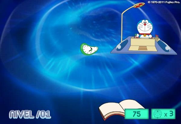 game Doremon lai co may thoi gian