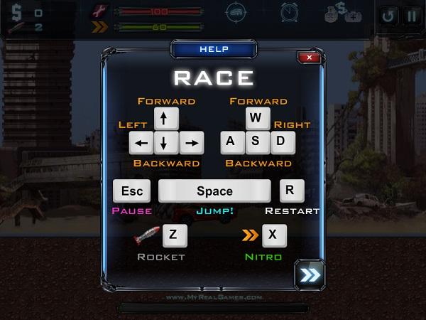 game Dua xe robot bien hinh y8