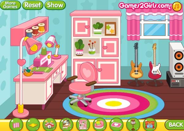 game Trang tri nha cua don tet