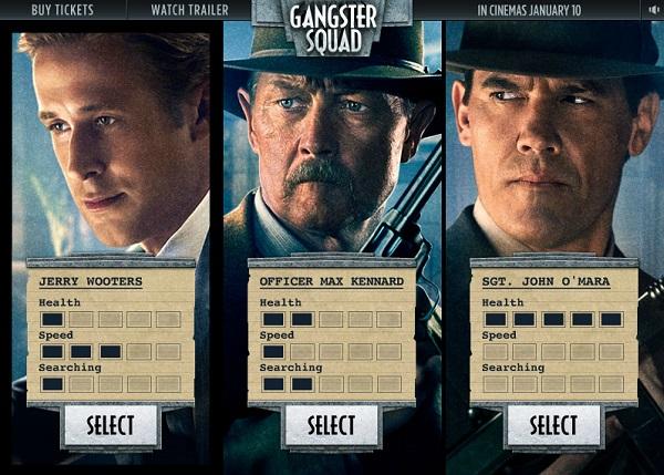 game Bang dang Gangster squad