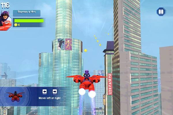 game Biet doi Big hero 6 3d online