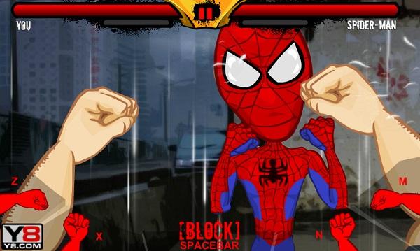 game Dam boc voi nguoi nhen Epic celeb brawl spiderman