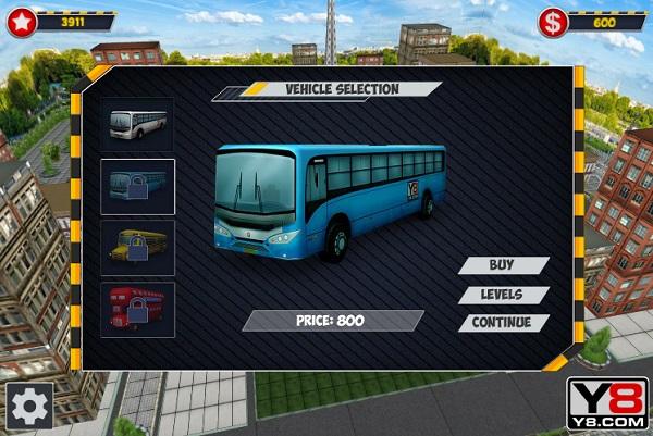 game Lai xe buyt 3D du lich online