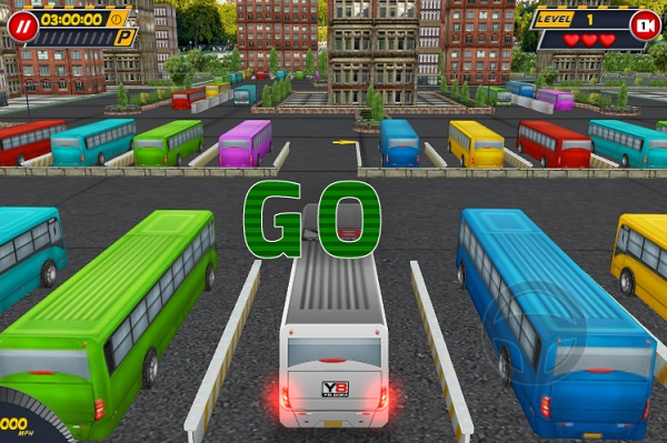 game Lai xe buyt 3D tren y8