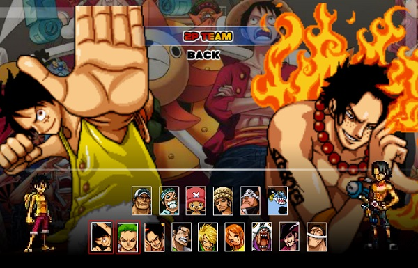 game One Piece burning blood cho pc