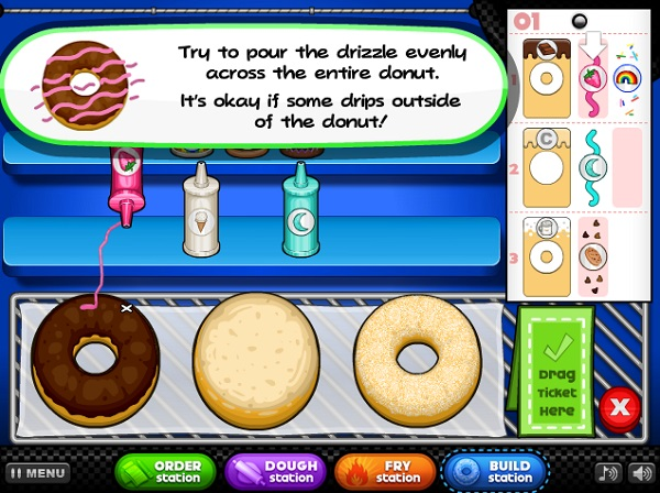 game Papa's Donuteria online