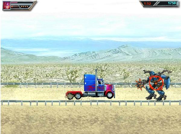game Robot dai chien bien hinh chien dau 4