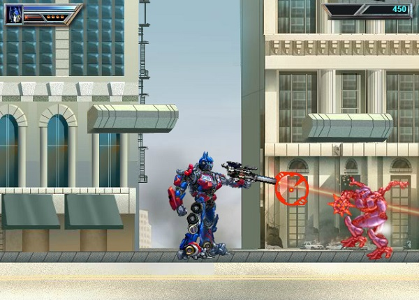 game Robot dai chien transformers 4