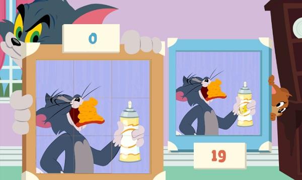 game Tom va Jerry xep hinh anh 2