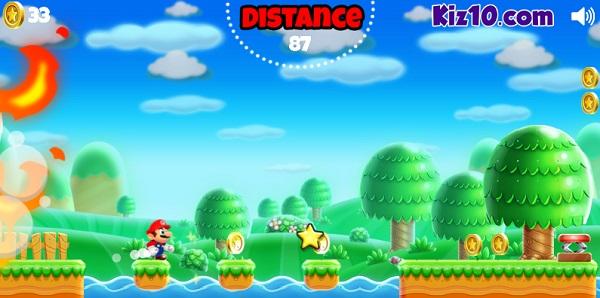 game Chay di Mario online