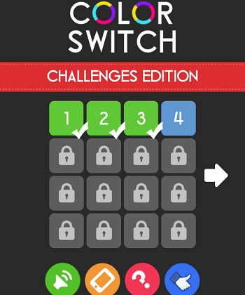 game Color switch challenges edition