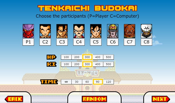game Dragon Ball Z Devolution gt online offline