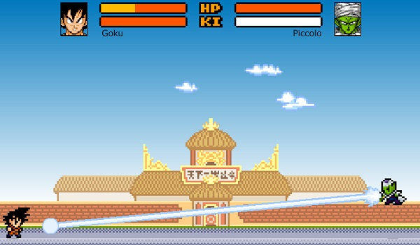 game Dragon Ball Z Devolution shin bodukai