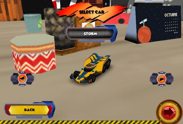 game Dua xe oto sieu toc 3d