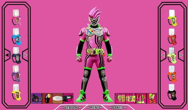 game Kamen Rider Ex-Aid flash