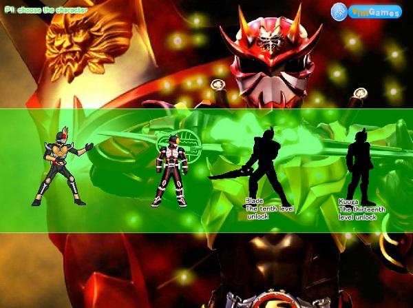game Kamen Rider online
