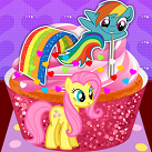 Game-Lam-banh-cupcake-pony