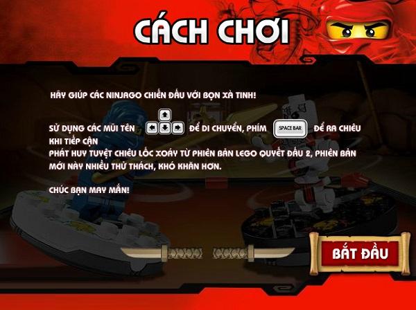 game Ninjago quyet dau 3 2016 2017