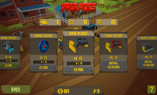 game Thu hoach zombie harvester rush