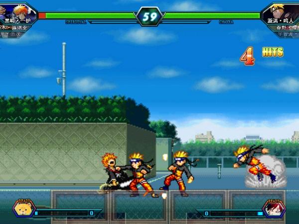 game Bleach vs Naruto 3.0 2 nguoi phien ban moi nhat