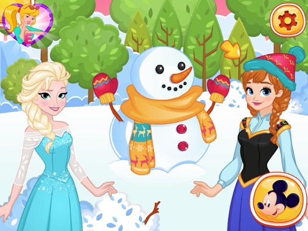 game Dao quanh Disney online