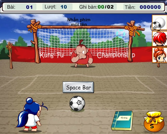game Doi bong thieu lam online offline