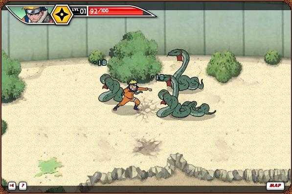 game Naruto dai chien lang la ninja
