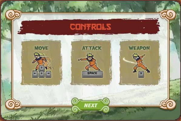 game Naruto dai chien lang la online offline