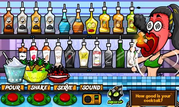 game Pha che ruou Bartender 2