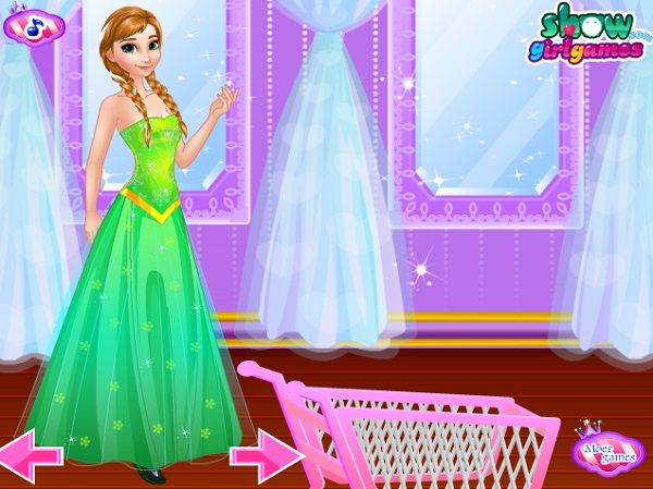 game Quan ly cua hang ban quan ao cua Elsa