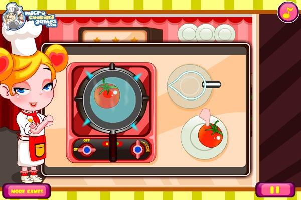 game Vua lam banh pizza