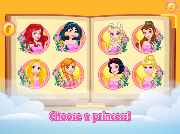 game Cong chua Disney hoa thanh Winx club