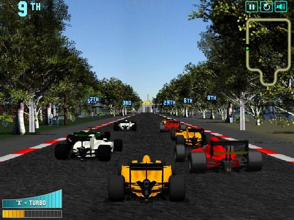 game Dua xe F1 sieu toc