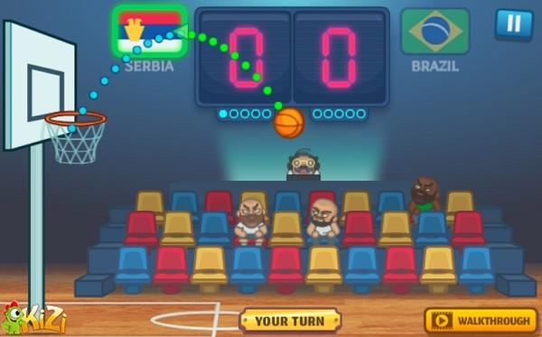game Giai vo dich bong ro Basket champs
