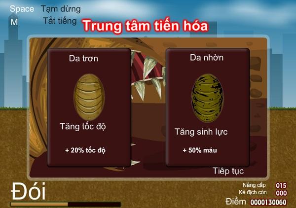 game Giun dat khong lo tuyet chung loai nguoi