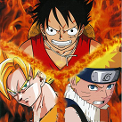 Goku vs Naruto vs Luffy vs Ichigo