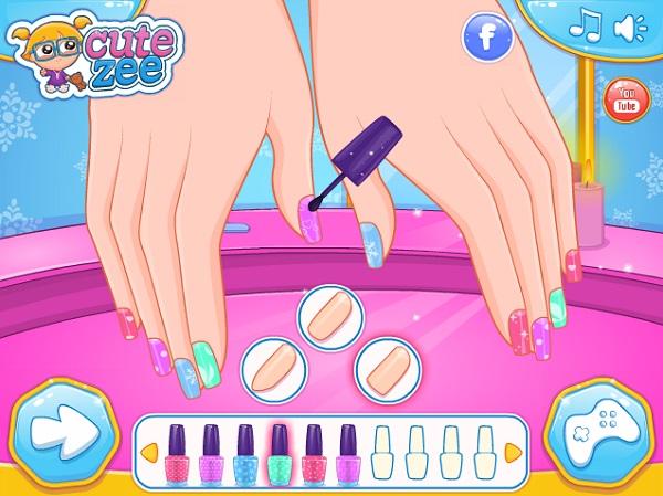 game Lam mong tay cho Elsa va Anna hinh anh 2