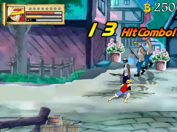 game One Piece dao hai tac 2 danh nhau quyet dau