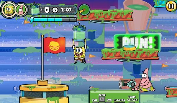 game Spongebob tran chien bun lay hinh anh 3