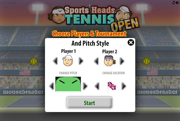 game Tennis bang dau to
