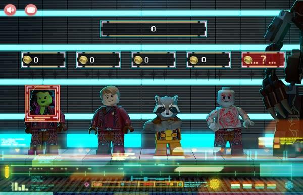 game Ve binh giai ngan ha Lego vui game