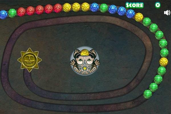 game Ban bi vong tron zuma mien phi cho may tinh
