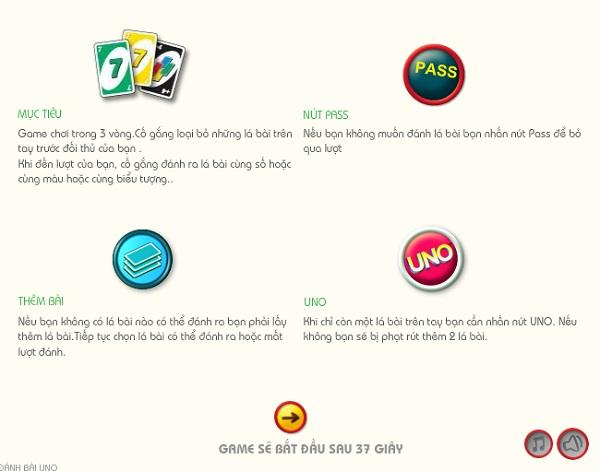 game Danh bai uno friends online